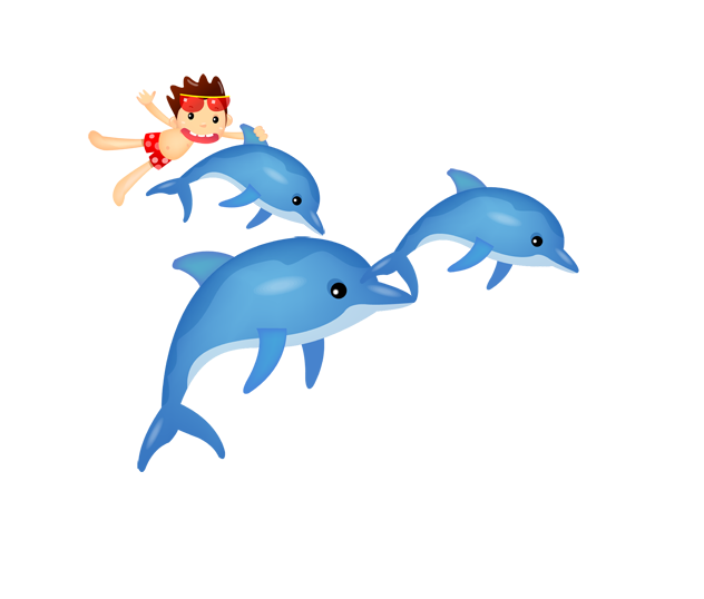 Dolphin clipart marine biology. Cartoon clip art transprent