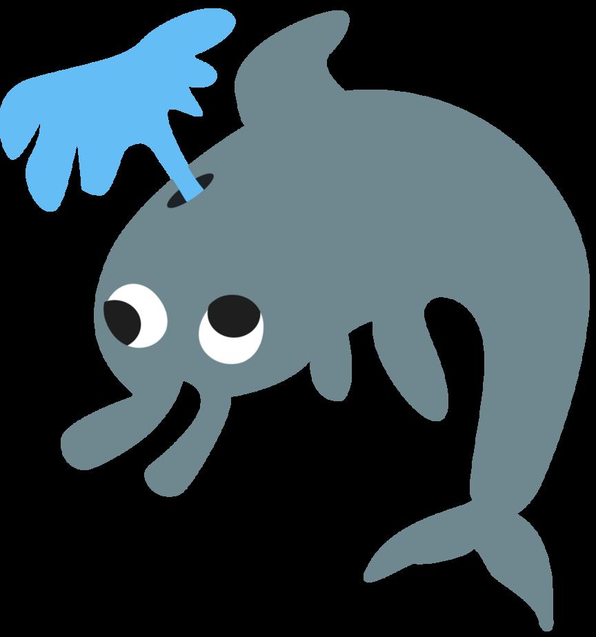 Dolphins clipart scared. Applebloom dolphin cutie mark