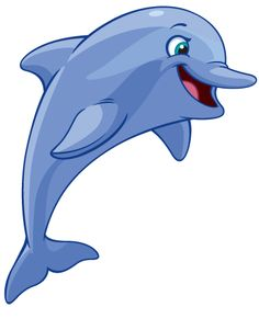 Station . Dolphin clipart cute baby dolphin
