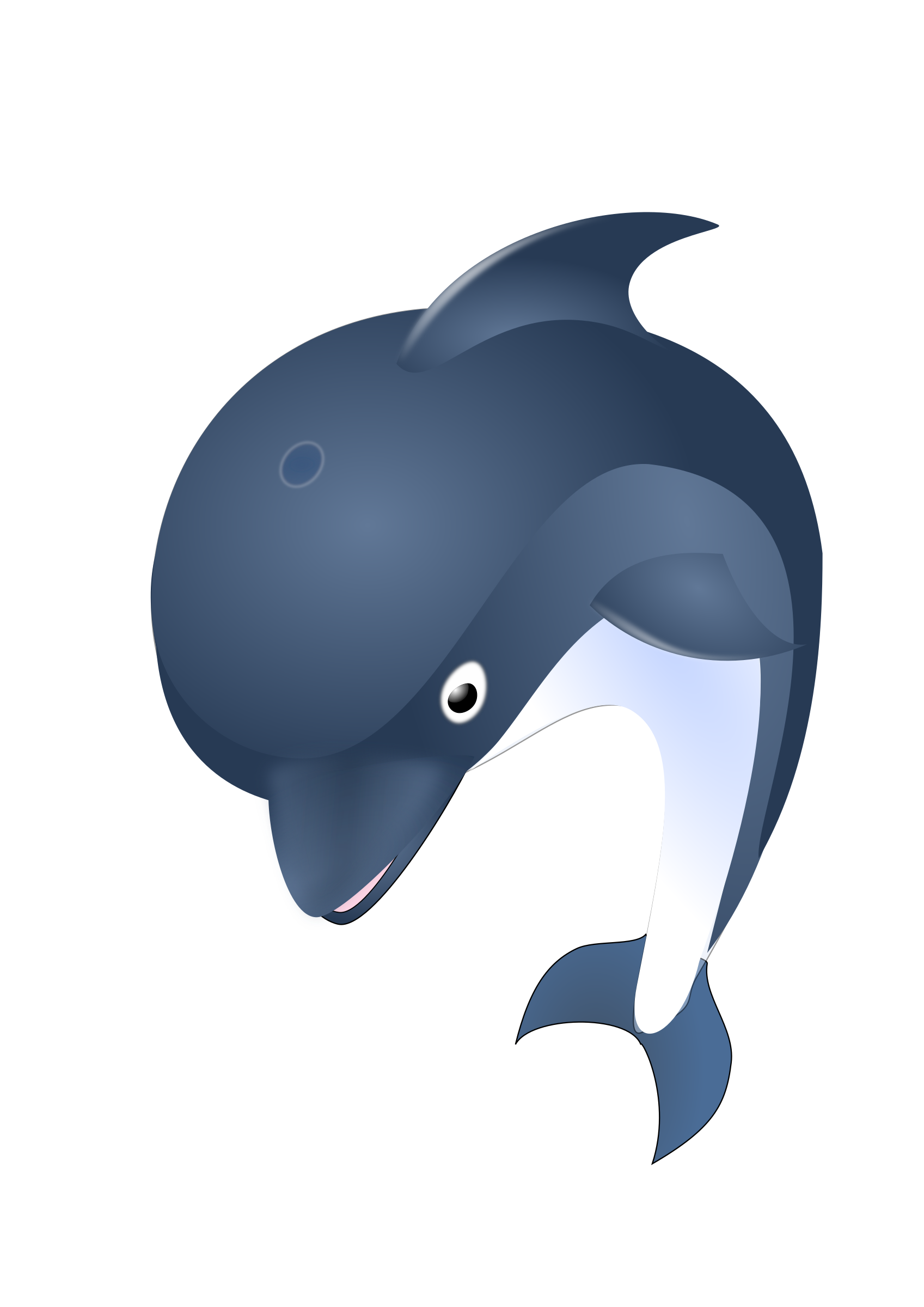 Clipart dolphin diving dolphin. Jumping big image png