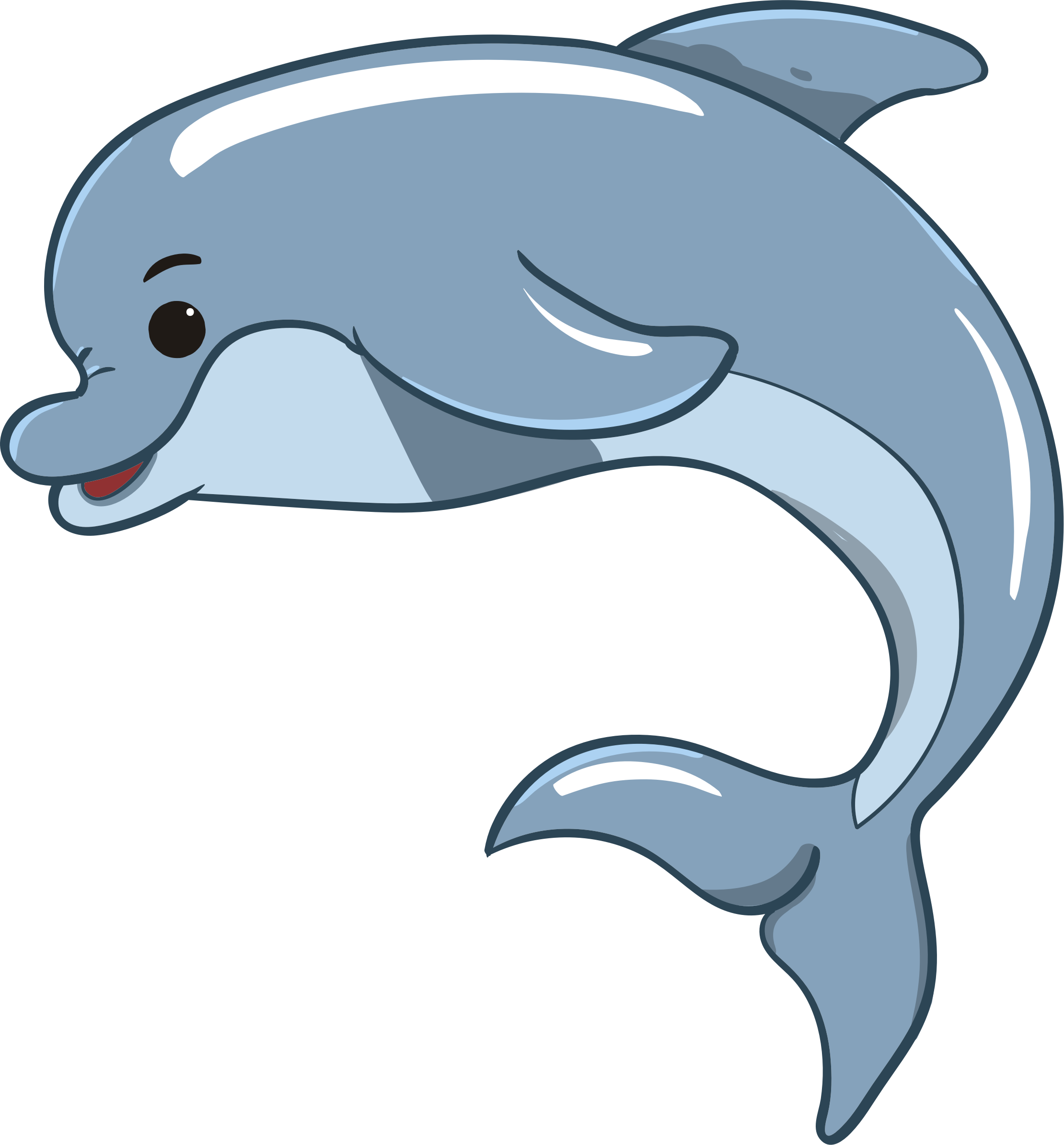 Dolphin clipart dolphin love. Baby big image png