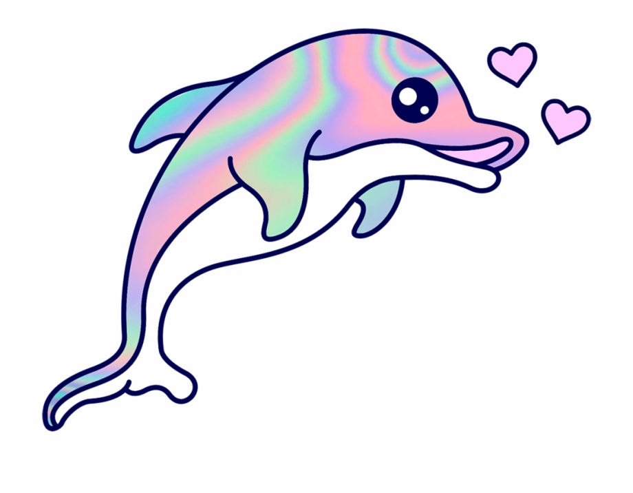 Images cartoon free png. Dolphin clipart dolphin love