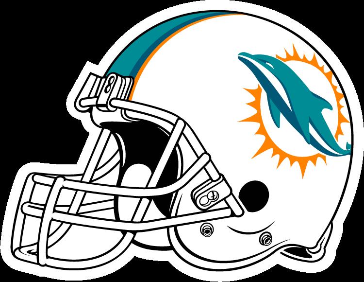 Dolphins helmet . Clipart dolphin dolphin miami logo