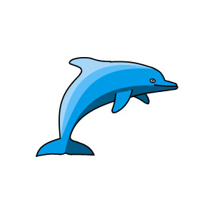 Dolphin clipart dolphin swimming. Free cliparts download clip