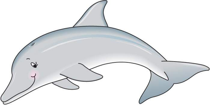 Dolphin clipart dolphin swimming. Clip art black and