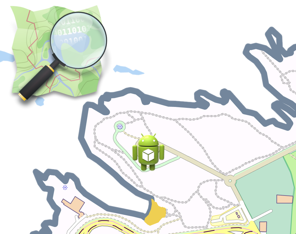 Mapas offline en android. Dolphin clipart drawable