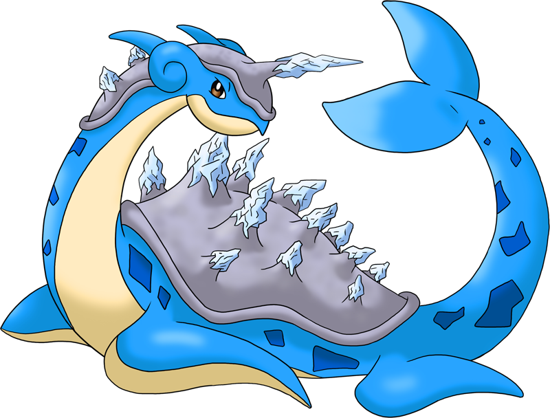 Shiny Lapras Frost Pokédex: stats, moves, evolution, locations ...