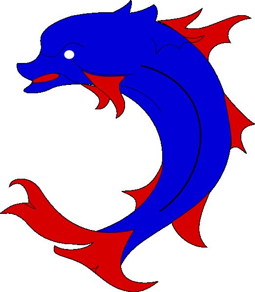 dolphin clipart logo