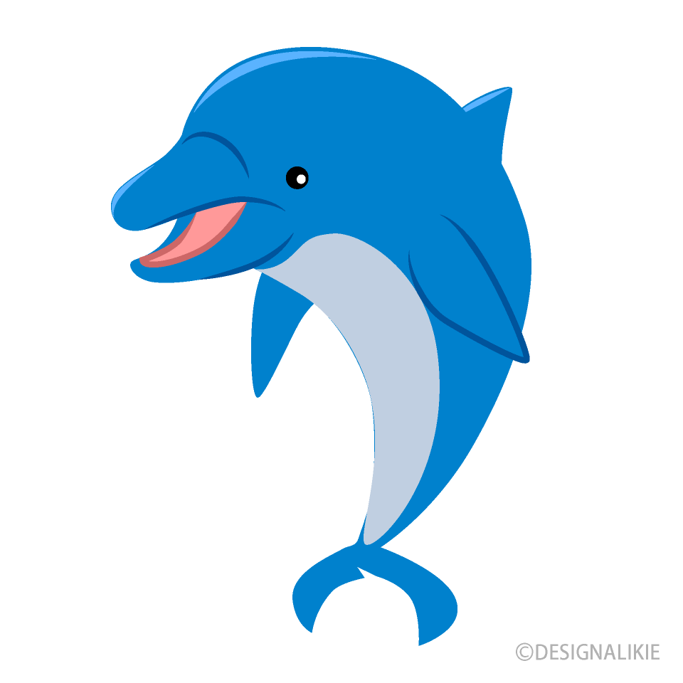 Dolphin clipart dolpin. Greeting free picture illustoon