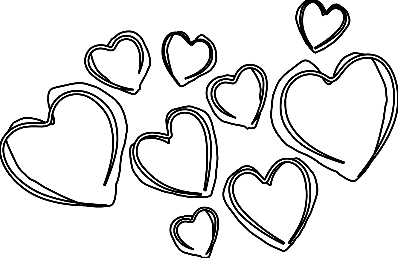 Clipart dolphin heart. Outline drawing at getdrawings
