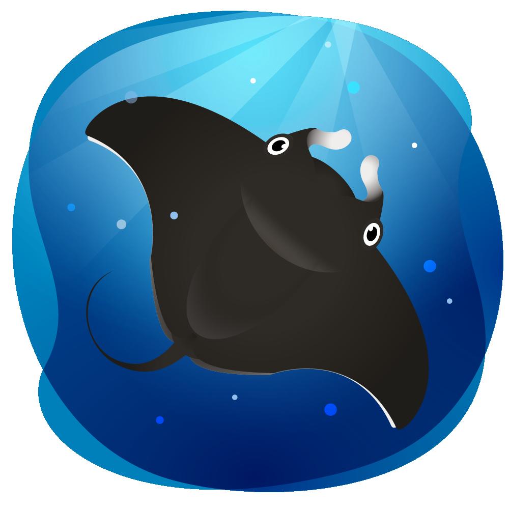 Mexico clip art bichos. Clipart dolphin illustrator