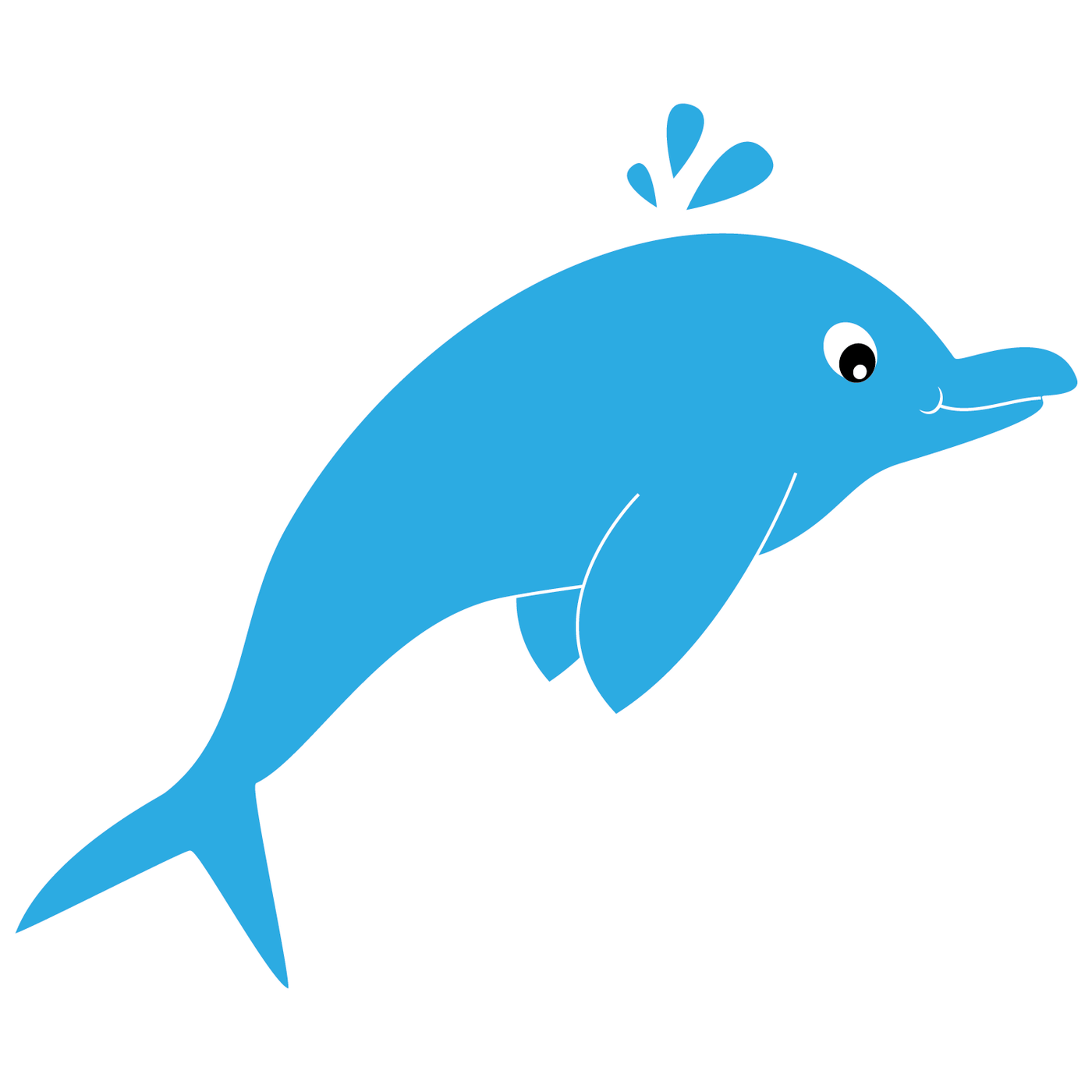 Under the sea clip. Dolphin clipart reading fun
