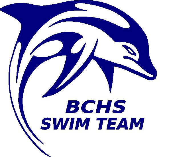 Bchs swim team clip. Dolphin clipart kid