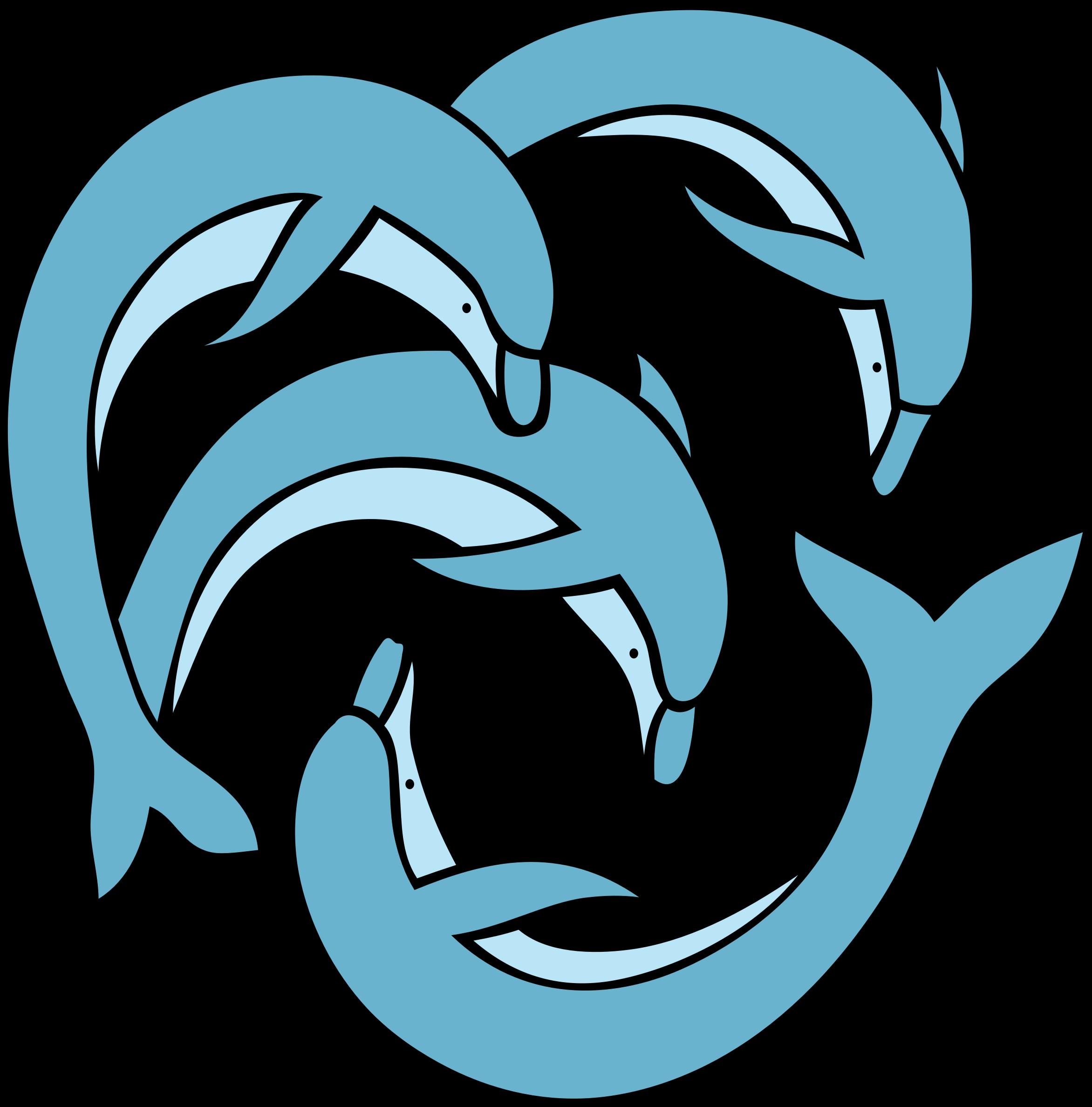 Dolphin teal