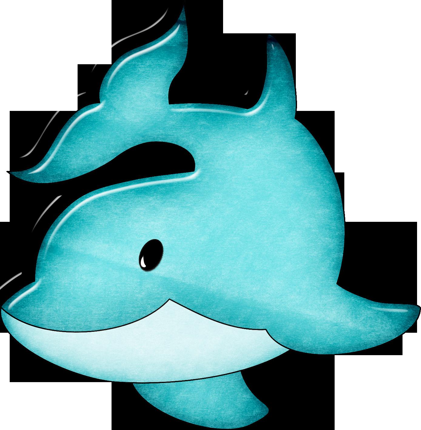 Dolphin clipart blue dolphin. Common bottlenose cartoon