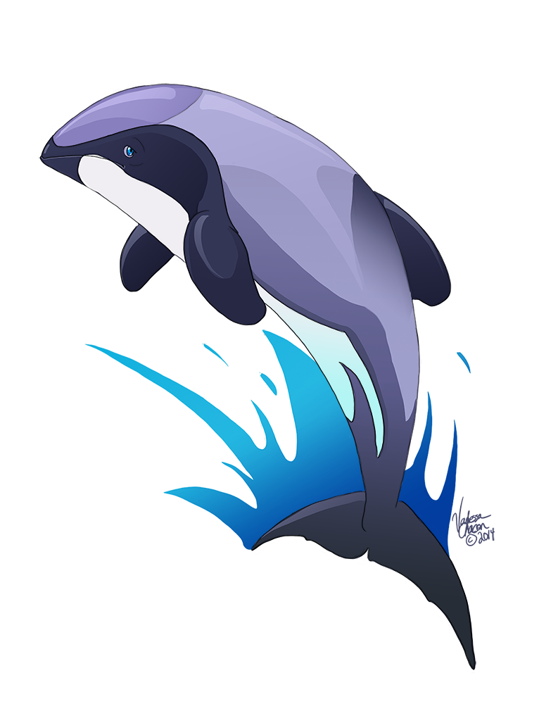 By atolm on deviantart. Dolphin clipart maui dolphin