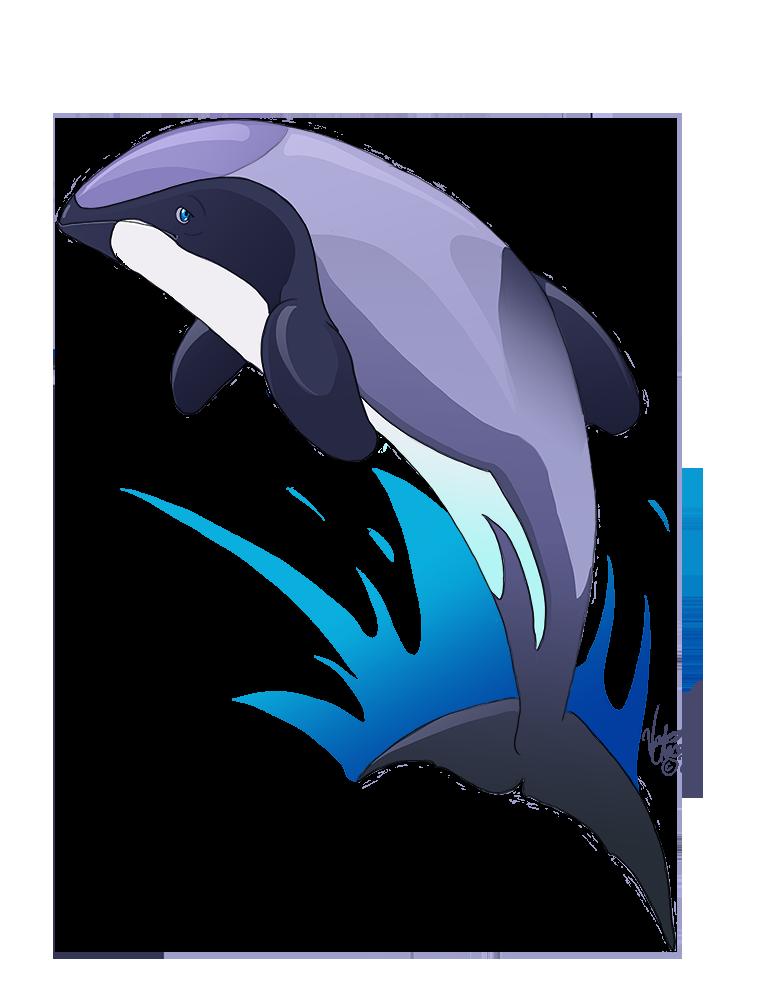 By atolm on deviantart. Clipart dolphin maui dolphin