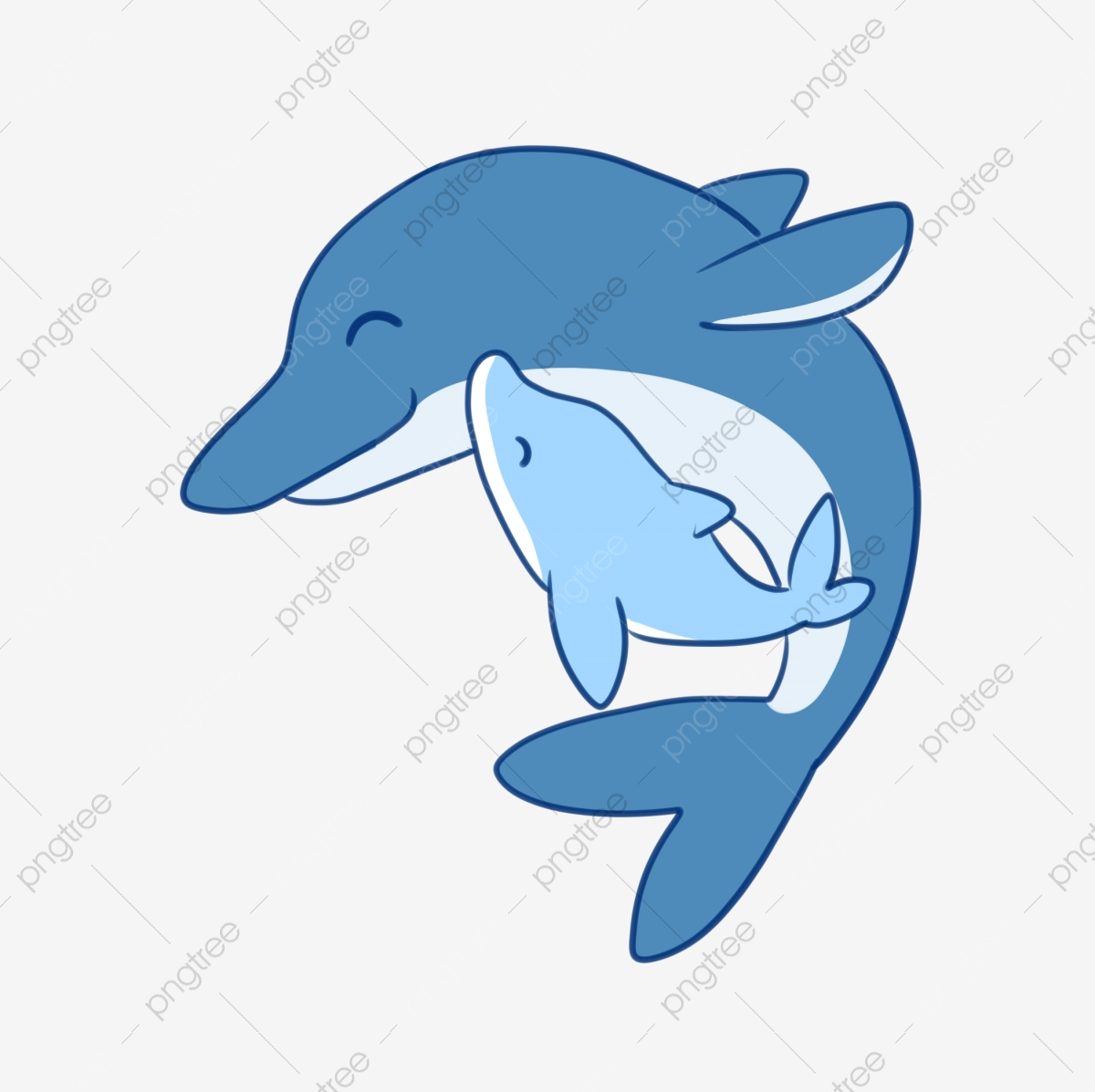 Dolphin clipart mother child. Animal and combination dolphins
