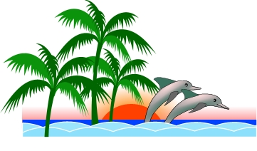 Free image of dolphins. Dolphin clipart nature