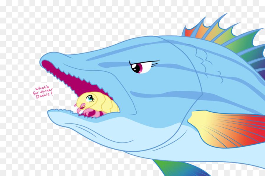 Cartoon background illustration . Dolphin clipart nature