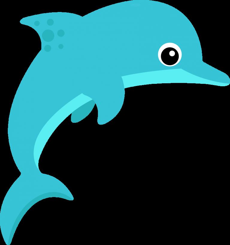 Deep sea creature clip. Dolphin clipart ocean dolphin