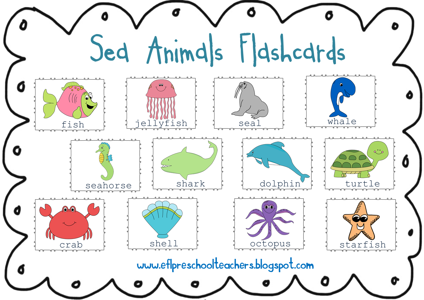 Dolphin clipart ocean life. Animal name pencil and