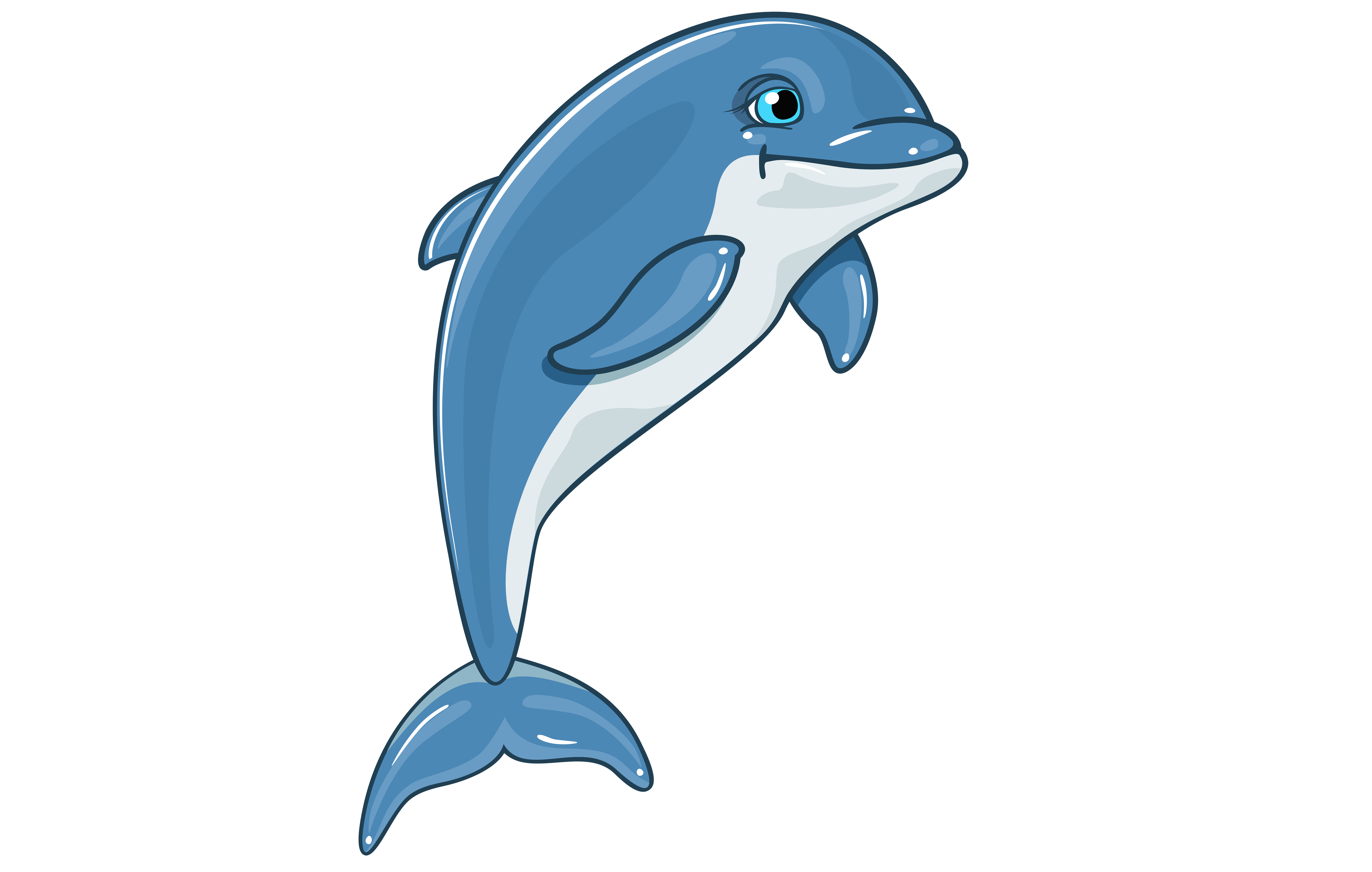 Dolphin clipart copyright free. Clip art d dolphins