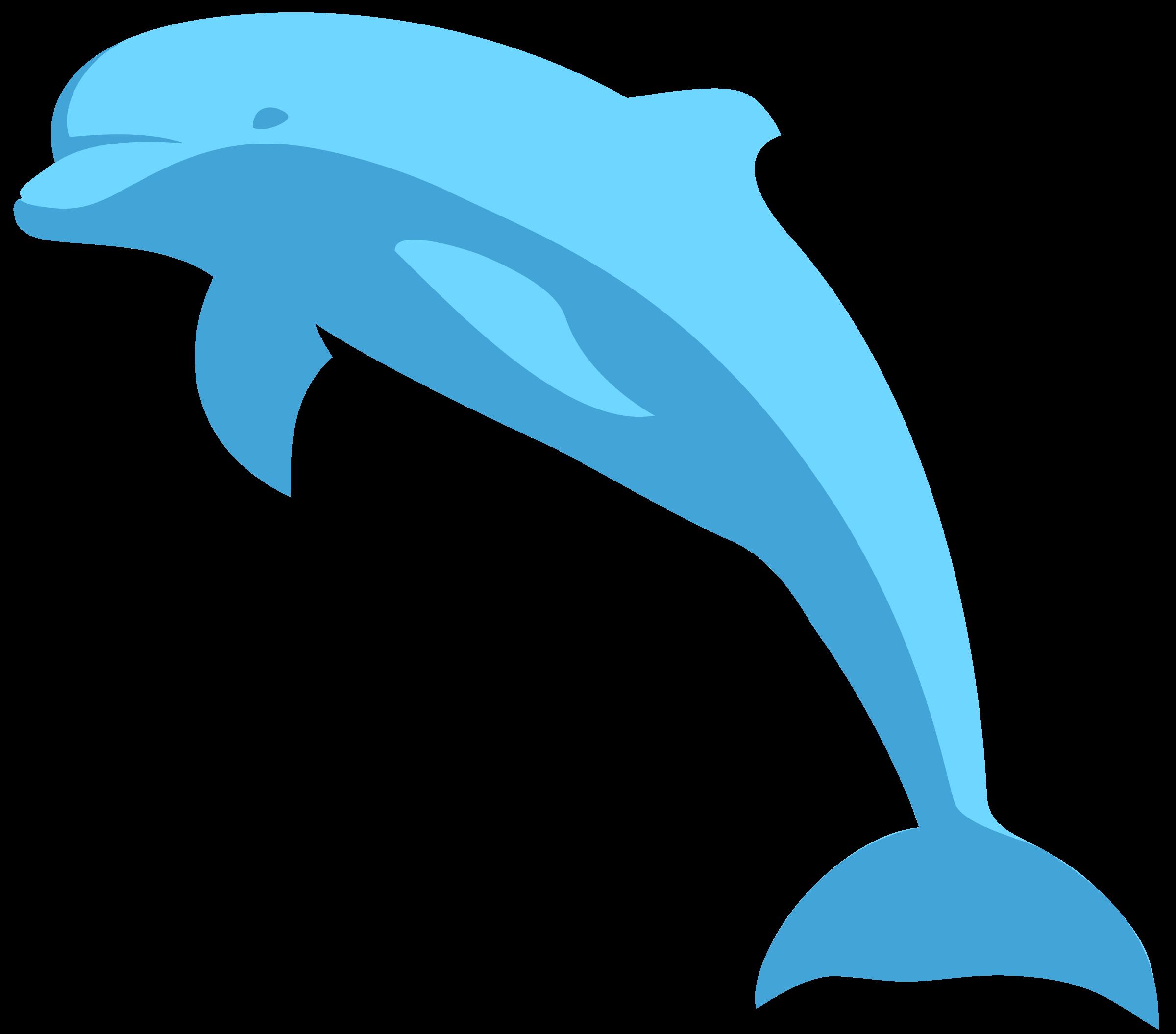 Dolphin clipart moving picture. Delphin delfin big image