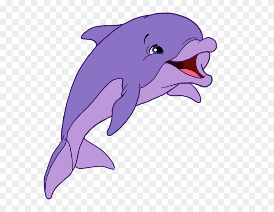 Dolphin clipart purple. Marte cartoon png download