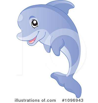 Dolphins clipart royalty free. Dolphin illustration by visekart