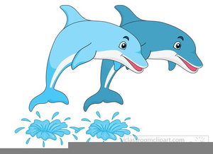 Dolphins clipart jumping. Free images at clker