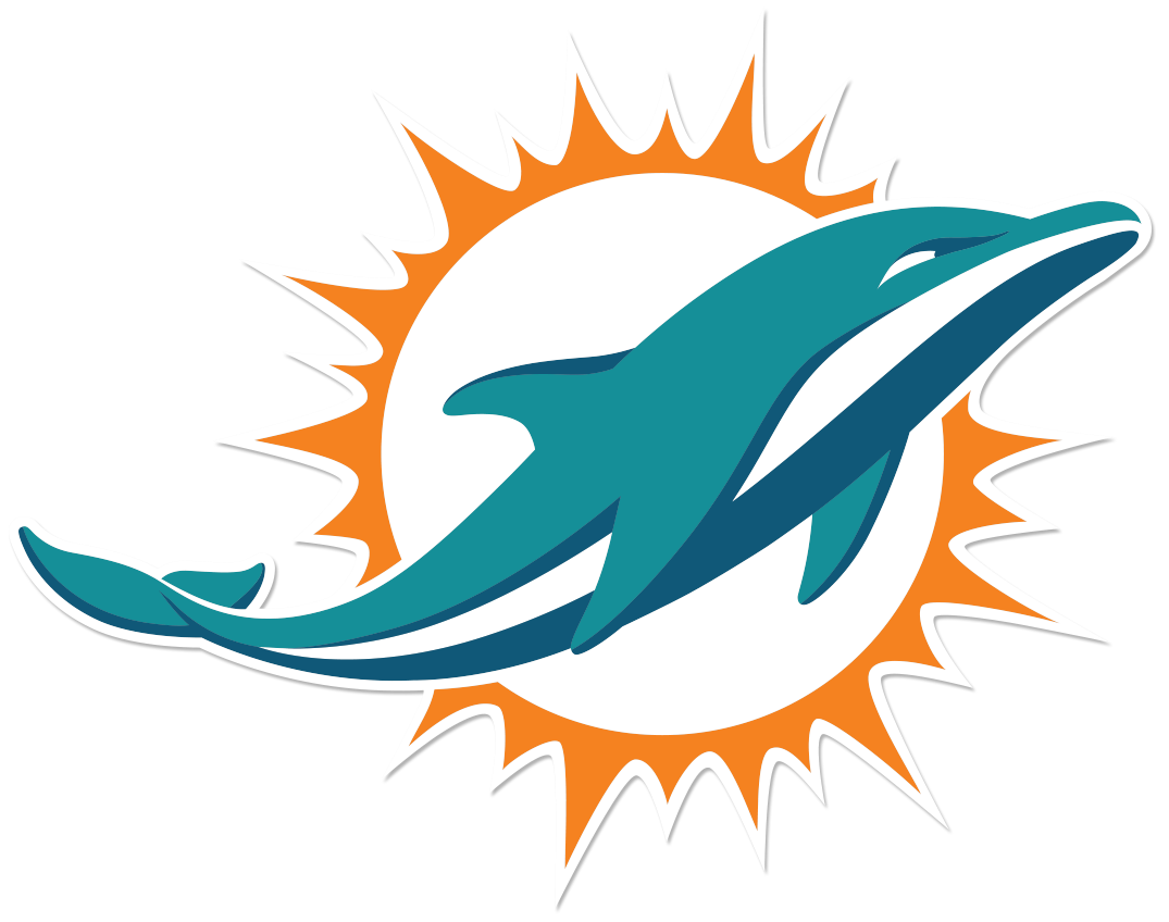 Miami dolphins rookie te. Clipart dolphin scene