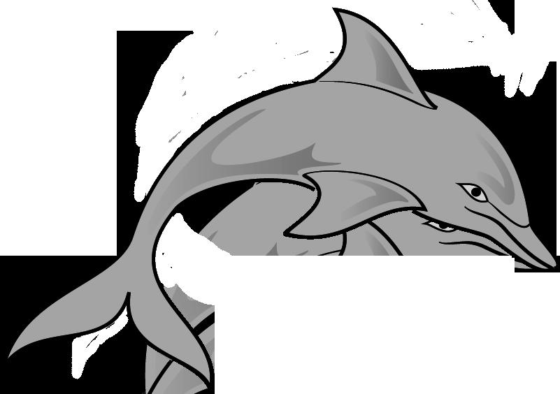 Dolphin clipart tribal. Clip art outline panda