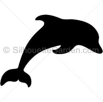Pin by muse printables. Dolphin clipart silhouette