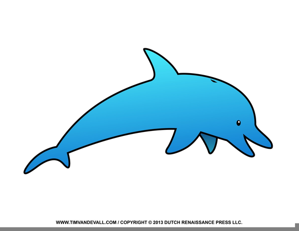 Dolphin clipart small dolphin. Cartoon free images at