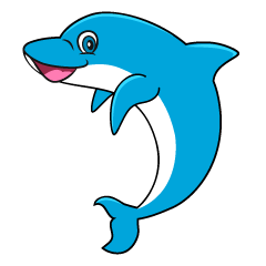Clipart dolphin standing. Free cliparts pictures illustoon