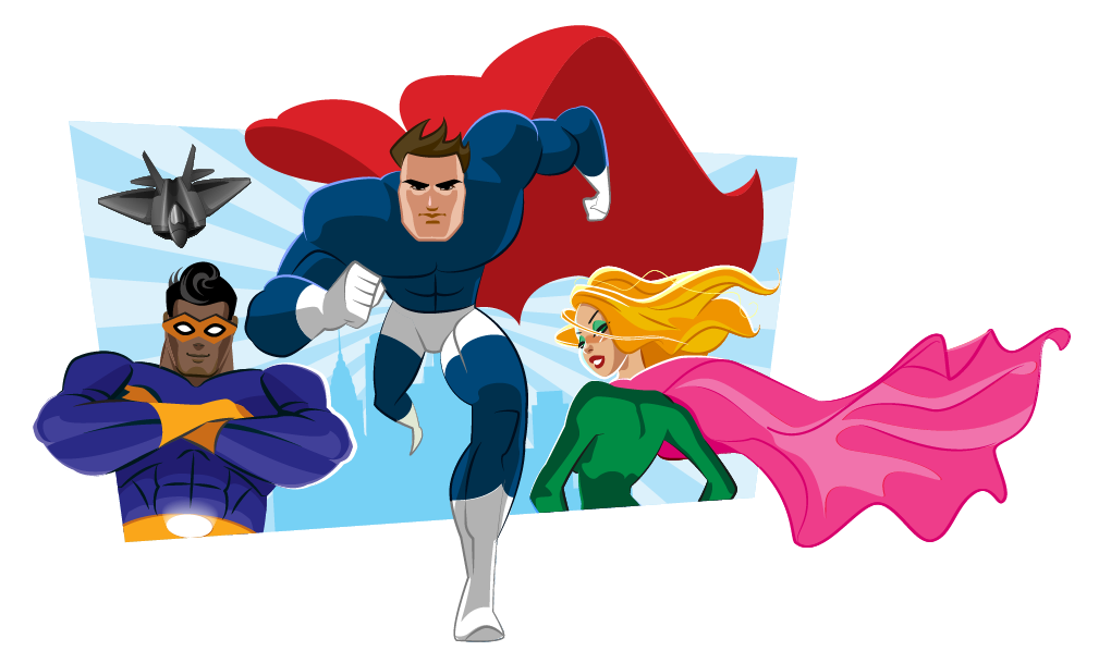 Dolphin clipart superhero. Adventures young writers