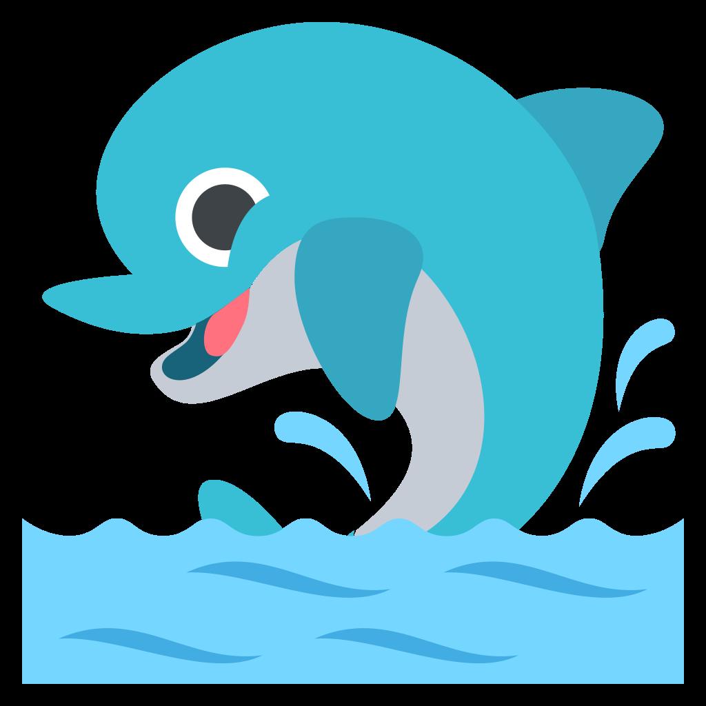 Clipart dolphin svg. File emojione f c