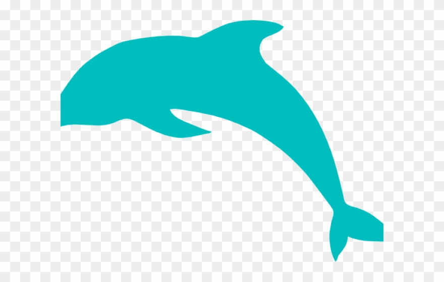 Dolphin clipart blue dolphin. Jumping clip art