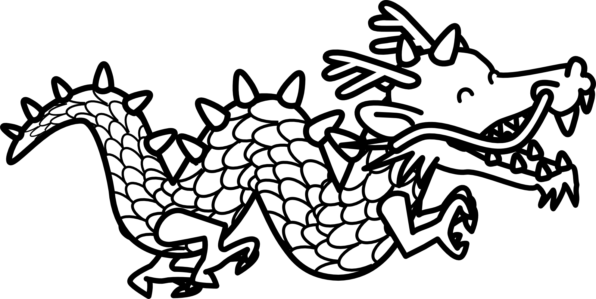 dragon clipart color