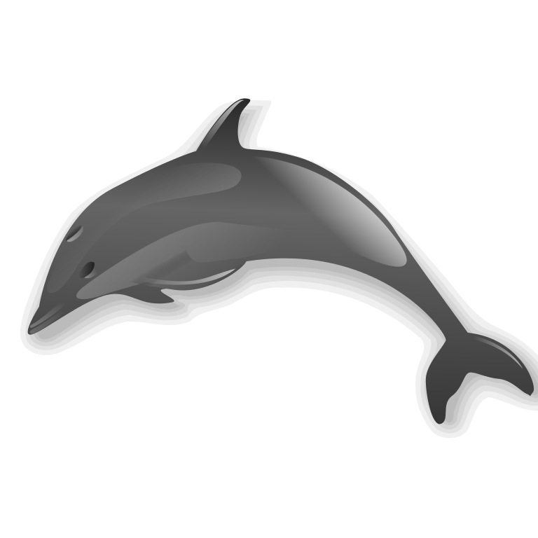 collection of no. Dolphin clipart logo