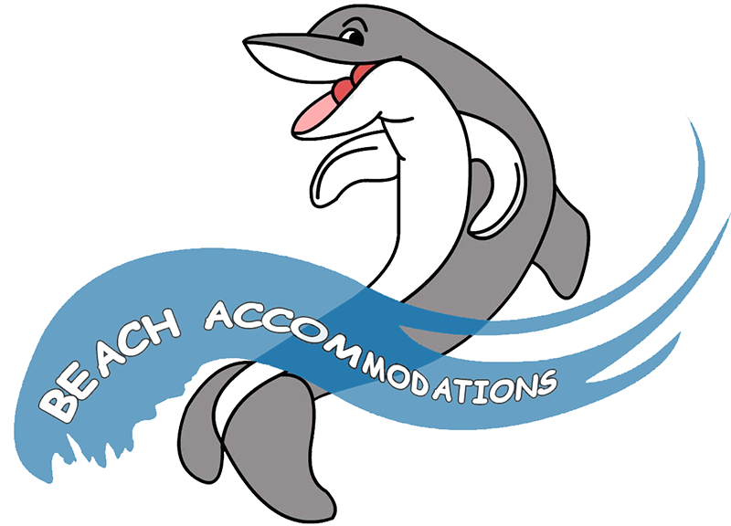 Clipart dolphin vacation florida. Beach accommodations rentals fort