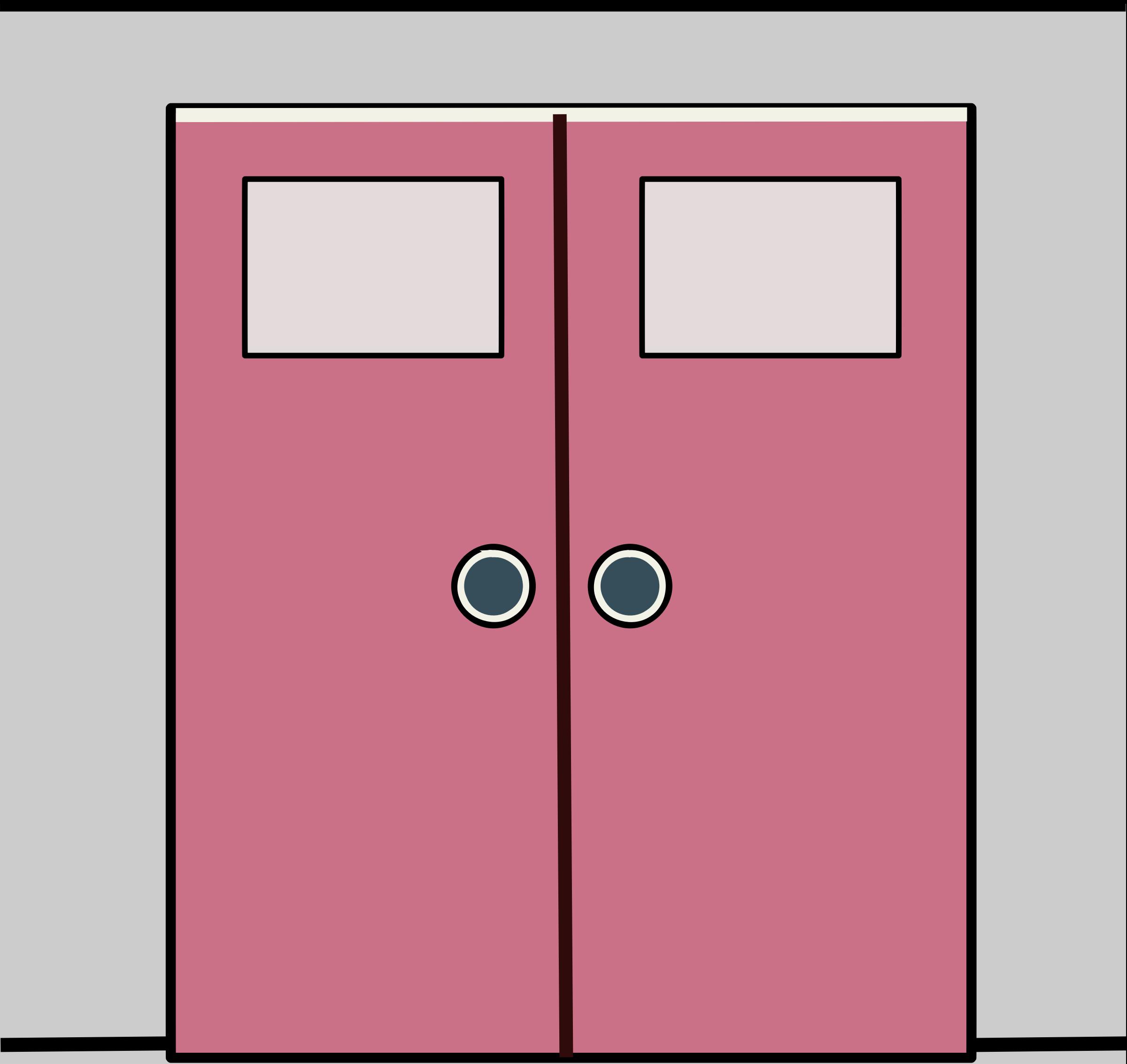 Big image png. Clipart door