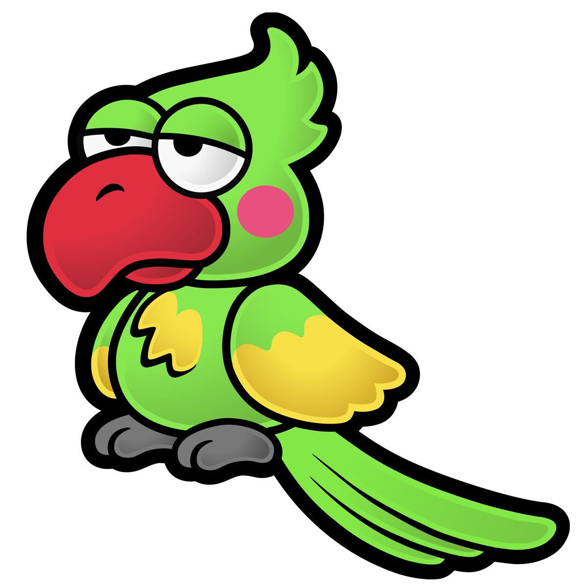 Parrot clipart mask. Image artwork the thousand