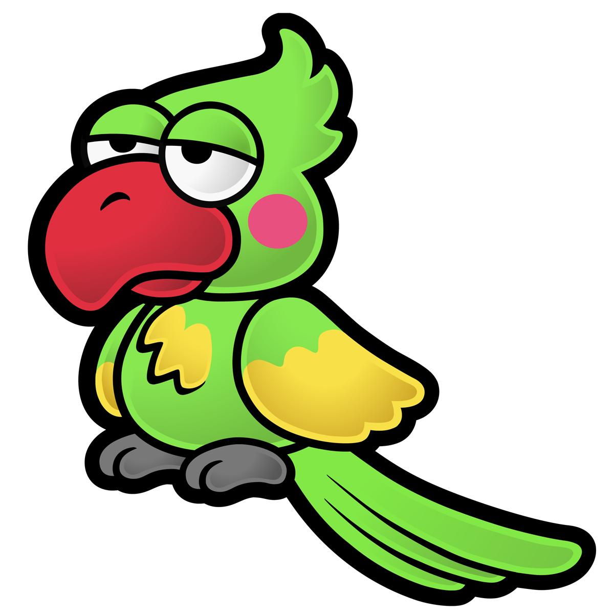 Image parrot artwork the. Door clipart 2 door