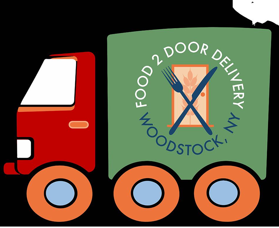 Clipart door 2 door. Food to delivery from