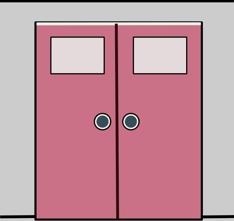 Door clipart big door. Free doors cliparts download