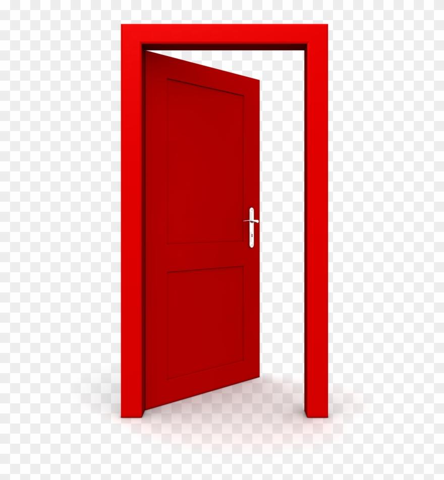 Door clipart opened door. Open the png transparent