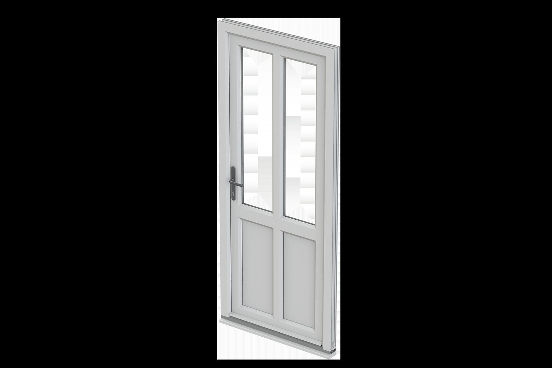 Trade double glazed windows. Clipart door back door