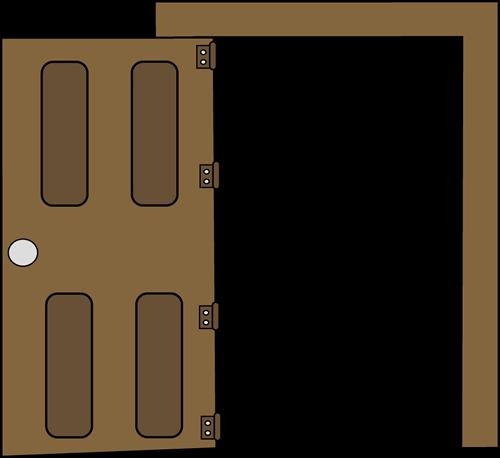 Clipart door back door. Cliparts zone